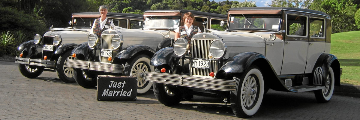 Vintage Wedding Cars and Bridal Cars for hire